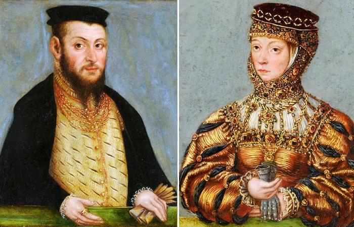 Сигизмунд II Август и Барбара Радзивилл