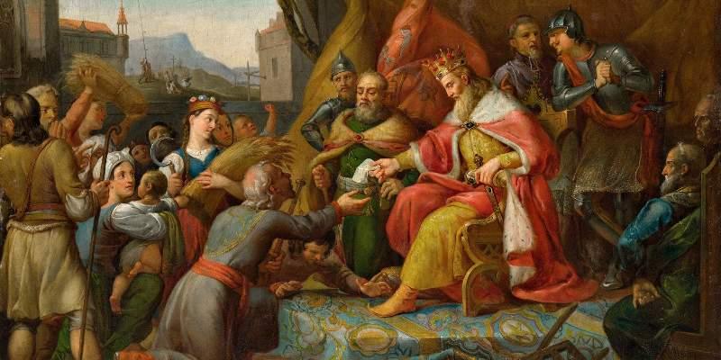 «Король Руси» Казимир III со своими подданными.